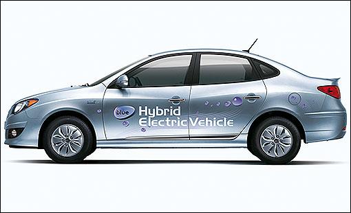 首创气电混合动力车款,hyundai elantra lpi hybrid韩国上市