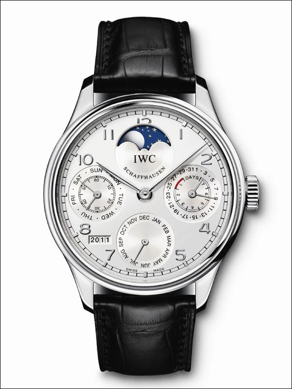 我想知道價格和該款手表圖 iwc萬國schaffhausenportofino手表圖片