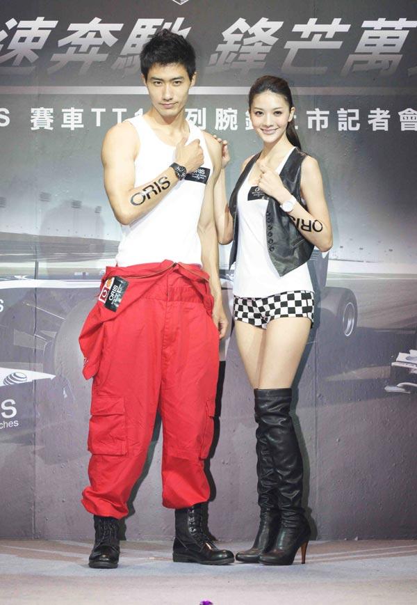 吴亚馨化身赛车女郎,Oris全新TT1系列表款上市-U-CAR钟表