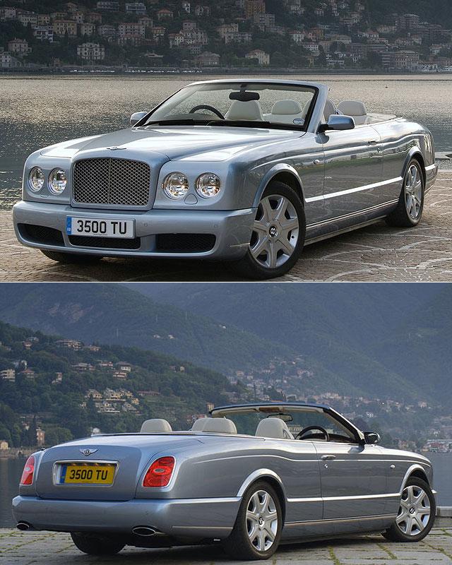 搶先對手一步,Bentley推出Grand Convertible敞篷概念車