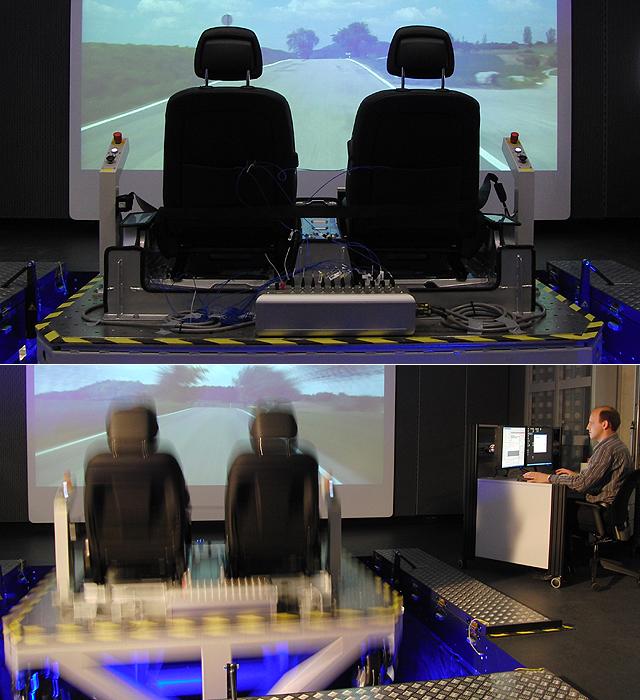让新车开发更加完善,驾驶模拟器+实际道路测试
