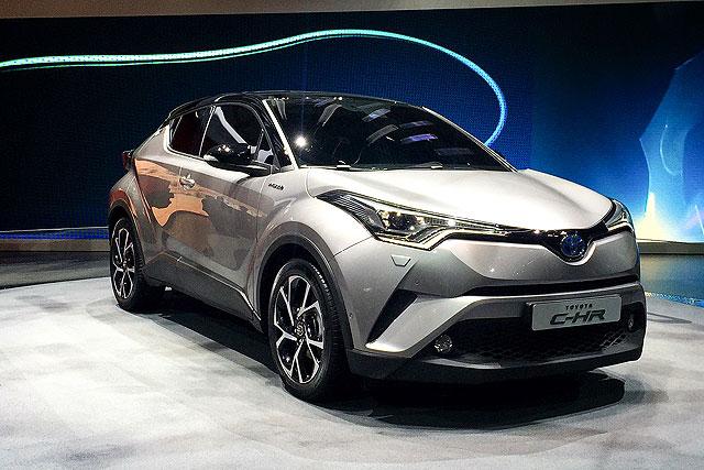 2016日內瓦車展:toyota C Hr正式首演、油電、渦輪與自然進氣共3種動力配置 U Car Com Tw