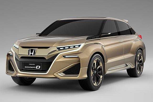 2015年上海车展中的concept d概念车,量产版本将在今年北京车展发表.