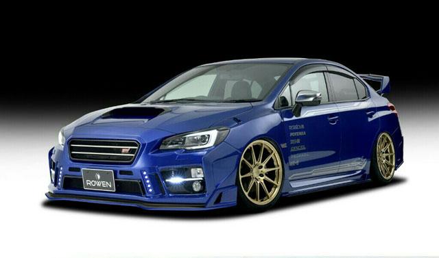 打造拉力質感 Rowen推出wrx Sti外觀改裝套件-u Car售後市場