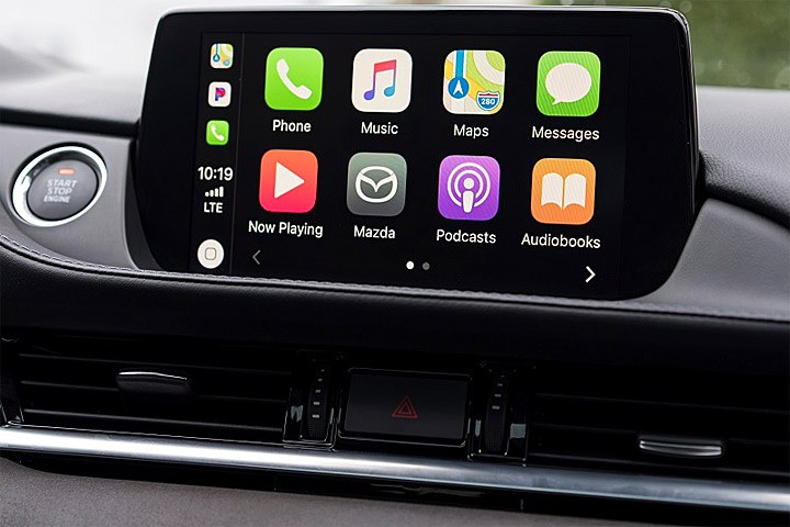 mazda apple carplay 9 u car. Black Bedroom Furniture Sets. Home Design Ideas