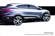 新一代Tucson藍圖?Hyundai預告HED-6概念車日內瓦現身