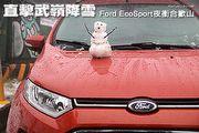 直擊武嶺降雪─Ford EcoSport夜衝合歡山
