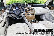 豪華新風貌─M-Benz C-Class試駕,內裝乘用篇