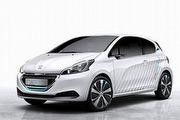 一公升汽油可跑50公里,Peugeot 208 HYbrid Air 2L巴黎車展首演