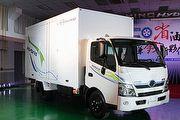 國產首發Hybrid商用車,Hino 300 HV節能效果最高可達20%