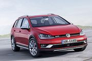 休閒野味與動感並存,Volkswagen Golf Alltrack巴黎車展前現身