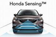美CR-V搶先搭載,Honda全新Sensing駕駛輔助系統