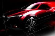 進軍小型跨界休旅市場,Mazda CX-3預告洛杉磯