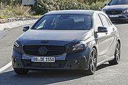 將與CLA Shooting Brake同台登場?疑似小改款M-Benz A-Class海外遭逮