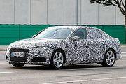 更俐落的輪廓浮現,新世代Audi A4偽裝車首度現身