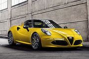 小跑車4C敞篷版來了!Alfa Romeo發表4C Spider