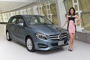 156萬元起三車型編成,M-Benz小改款B-Class車系國內登場
