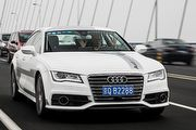 Audi A7無人自動駕駛概念車,2015 CES首度亮相亞洲