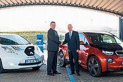 Nissan與BMW共同在南非建立電動車充電建設