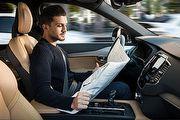 開車看報非夢事,Volvo展示最新自動駕駛科技