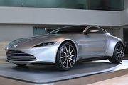 龐德專屬、全球10輛,Aston Martin DB10展示車抵臺巡演