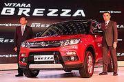 粗曠小休旅,Suzuki Vitara Breeza現身新德里車展