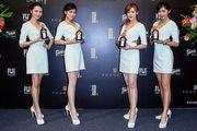時尚新星汪俐伶攜手君度橙酒,魅力橙迷震撼台北