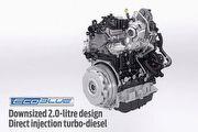 柴力新軍,Ford全新2.0 EcoBlue柴油引擎
