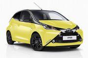 雙色搭配變化豐富,歐洲Toyota推出Bi-Tone Aygo x-cite