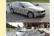 U-CAR網友全球捕車跑透透!BMW 5 Series Touring偽裝車德國就逮
