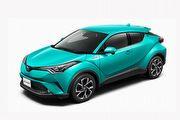 日本Toyota C-HR規配編成公布,臺灣有望引進1.2T車型
