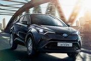 預計2017年3月上市、採1.2升渦輪動力,Toyota C-HR國內現身