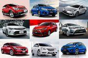 2016年度臺灣汽車市場銷售報告: 國產轎車Top 10
