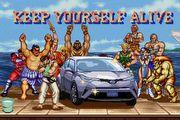 [勁廣告]帶著Ryu到處破關,Toyota C-HR與快打旋風的跨界結合