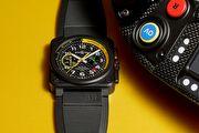 Bell & Ross 全新計時腕錶 見證雷諾一級方程式車隊戰車登場