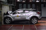 Euro NCAP撞擊測試,Toyota C-HR、Audi Q5、Land Rover Discovery獲5顆星