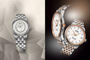 《2017 BASEL》美度表優雅新色永恆系列復刻超薄對錶