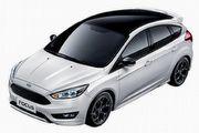 Ford Focus黑潮焦點版79.9萬元,比一般Focus多出空力套件、尾翼、新輪圈