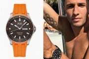 美國奧運名將跳水挑戰  MIDO Ocean Star 領航80小時腕錶
