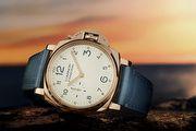 沛納海全新推出 LUMINOR DUE 42毫米3日動力儲存紅金/鈦金屬腕錶
