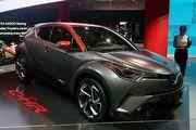 2017法蘭克福車展:Toyota展出C-HR油電性能版,新一代Land Cruiser Prado同步亮相