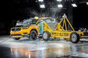 豪華小休旅耐撞嗎? Volvo釋出XC40側面撞擊測試影片