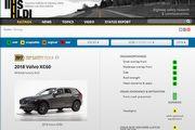 頭燈表現略微退步、前方撞擊預防系統進步,第2代Volvo XC60依舊獲得美國IIHS進階安全首選