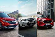 [U指數]2018年主流中型SUV網友口袋名單出爐,大改Forester、CR-V、CX-5獲前3名