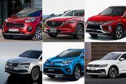 [規配懶人包]一般進口中型SUV:Karoq、CX-5、Tiguan、RAV4、Eclipse Cross、Sportage配備比拚