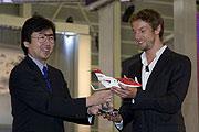 終極御風樂趣,Jenson Button成為HondaJet首位歐洲買主