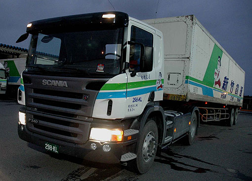 時尚拖車頭,Scania P340上市即...