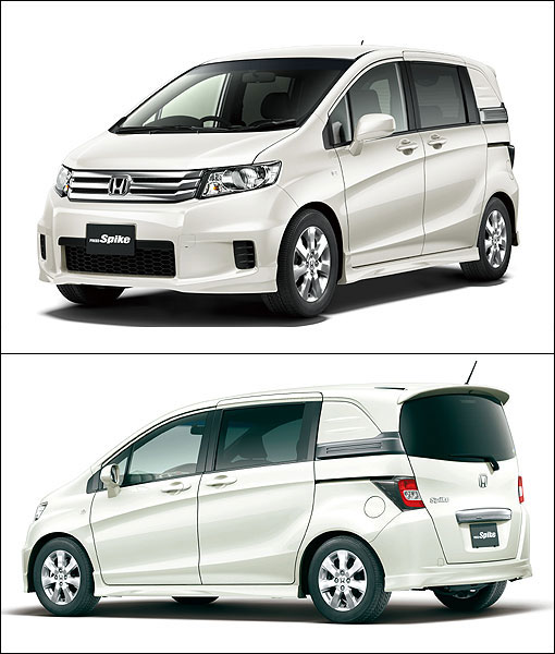 Honda Freed Supercharger: 銳利輕休旅,Honda Freed Spike日本上市開賣