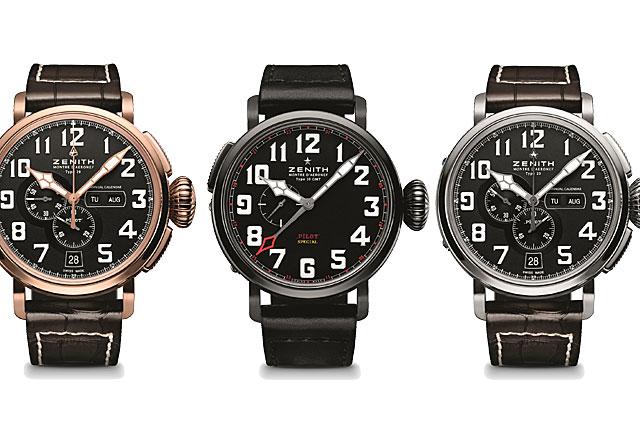 watch 2d9af 3720c Zenith 2013年飛行員系列新作駛進臺灣  U-CAR