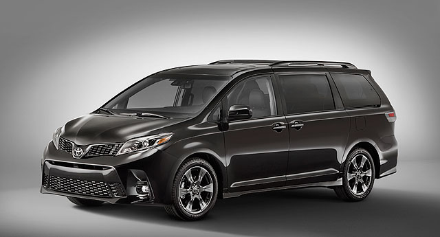 tss 2018 toyota sienna u. Black Bedroom Furniture Sets. Home Design Ideas